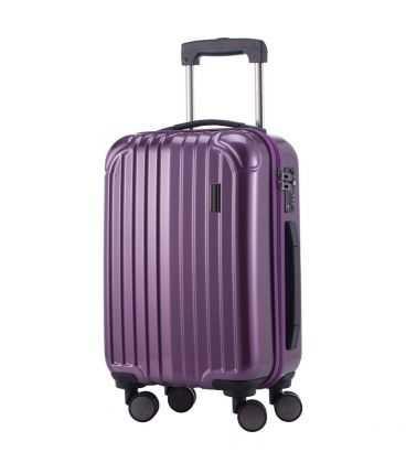 Валіза Q-Damm 35 літрів фіолетова