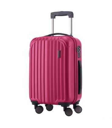 Чемодан Q-Damm 35 литров розовый