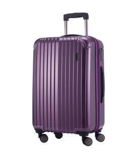 Валіза Q-Damm Midi фіолетова