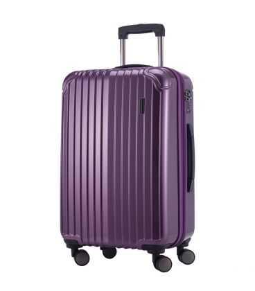 Чемодан Q-Damm Midi фиолетовый картинка, изображение, фото