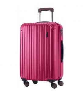 Валіза Q-Damm Midi рожева
