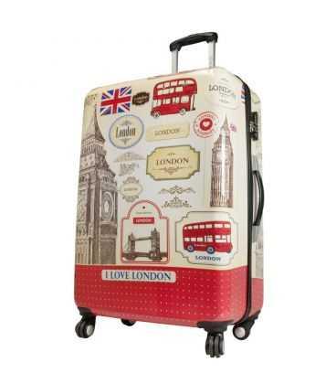 Чемодан Monopol London 3 Maxi картинка, изображение, фото