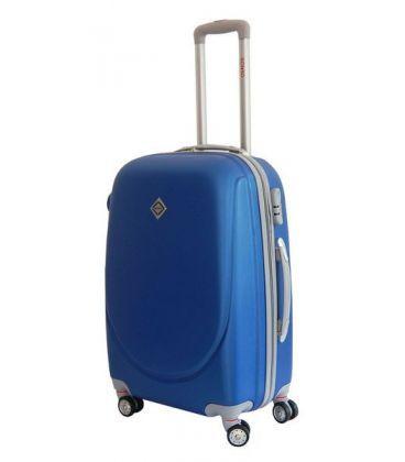 Чемодан Bonro Smile double wheels Mini синий картинка, изображение, фото
