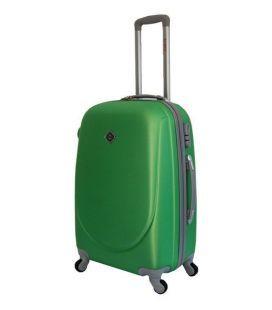 Чемодан Bonro Smile Midi зеленый