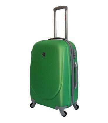 Чемодан Bonro Smile Midi зеленый картинка, изображение, фото