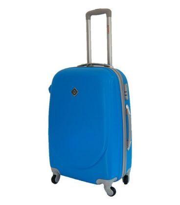 Валіза Bonro Smile Midi голуба картинка, зображення, фото