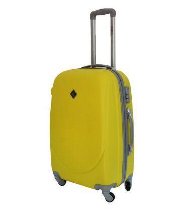 Чемодан Bonro Smile Maxi желтый картинка, изображение, фото