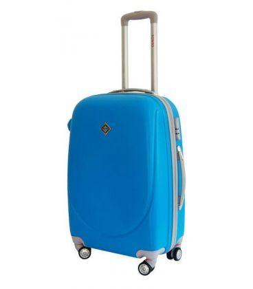 Чемодан Bonro Smile double wheels Maxi голубой картинка, изображение, фото