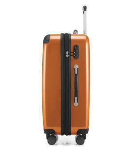Чемодан Alex Mini оранжевый картинка, изображение, фото