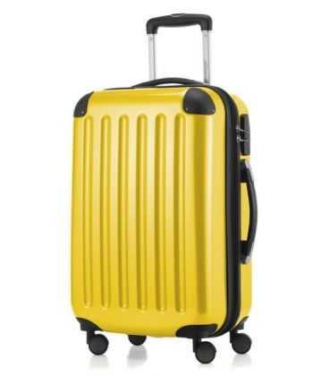Чемодан Alex 42 литра желтый