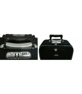Валіза Bonro Style Mini чорно-сіра картинка, зображення, фото
