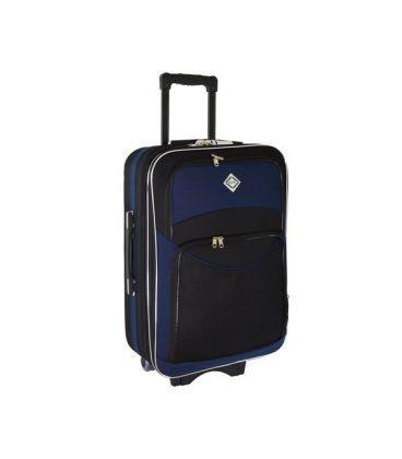 Чемодан Bonro Style Mini черно-т.синий картинка, изображение