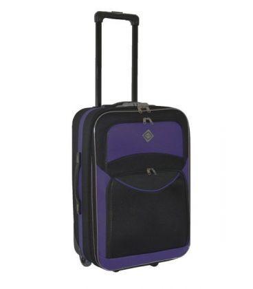 Чемодан Bonro Best Mini черно-фиолетовый картинка, изображение