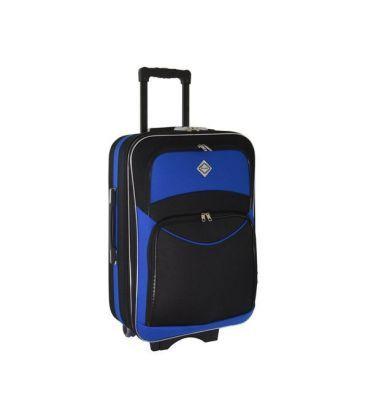 Валіза Bonro Style Midi чорно-синя картинка, зображення, фото