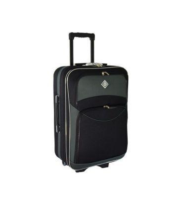 Валіза Bonro Style Midi чорно-сіра картинка, зображення, фото