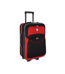 Чемодан Bonro Style Midi черно-красный