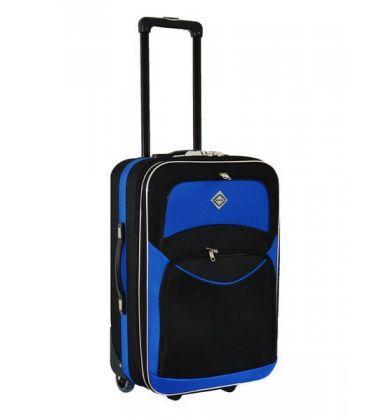 Валіза Bonro Best Midi чорно-синя картинка, зображення, фото