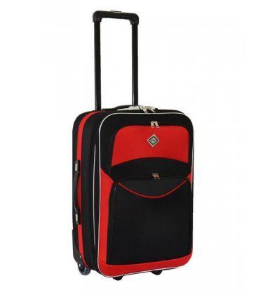 Валіза Bonro Best Midi чорно-червона картинка, зображення, фото