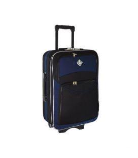 Чемодан Bonro Style Maxi черно-т.синий