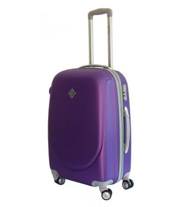 Чемодан Bonro Smile double wheels Midi фиолетовый картинка, изображение, фото