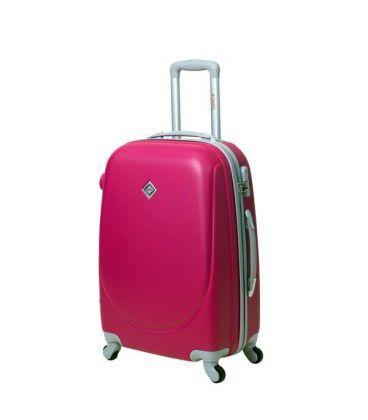 Валіза Bonro Smile Midi рожева картинка, зображення, фото