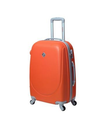 Чемодан Bonro Smile Midi оранжевый картинка, изображение, фото