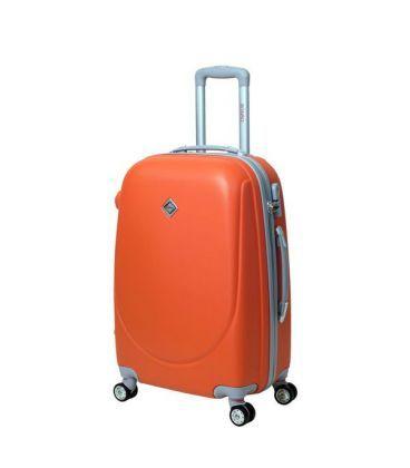 Чемодан Bonro Smile double wheels Midi оранжевый картинка