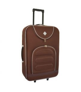 Чемодан Bonro Lux Midi коричневый
