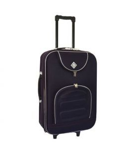 Чемодан Bonro Lux Midi темно-фиолетовый