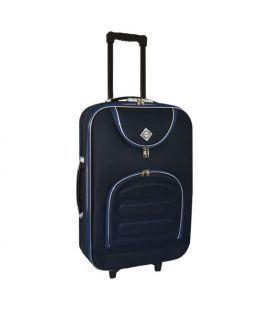 Чемодан Bonro Lux Maxi темно-синий