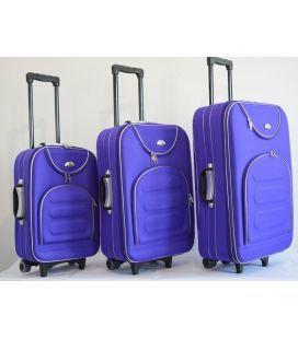 Набор Чемоданов Bonro Lux фиолетовый