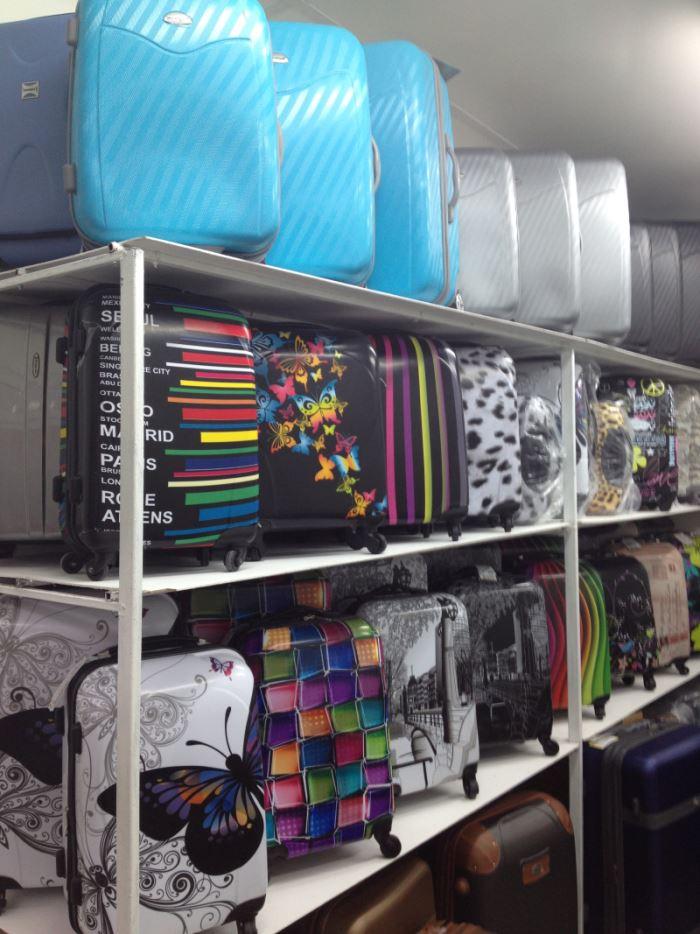 Ассортимент чемоданов в магазине Chemodanoff.com.ua