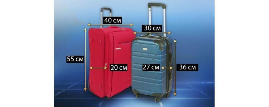 Как выбрать чемодан для авиакомпаний лоукостеров