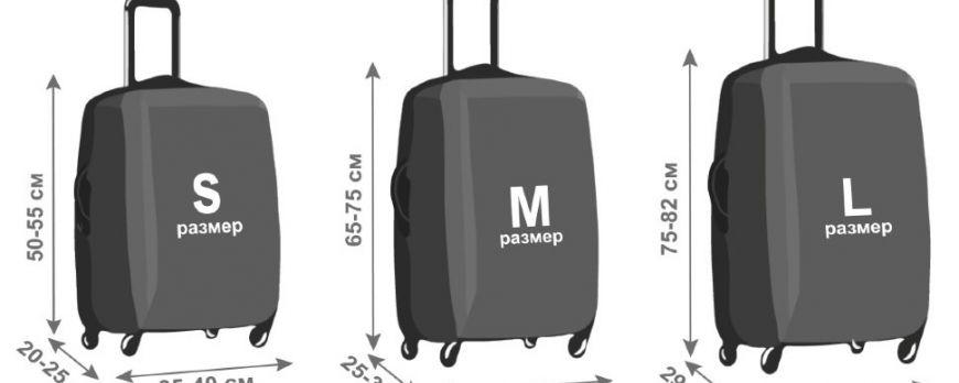 Размеры чемоданов: какой объем выбрать