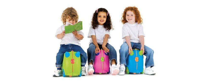 Как правильно выбрать чемодан для детей